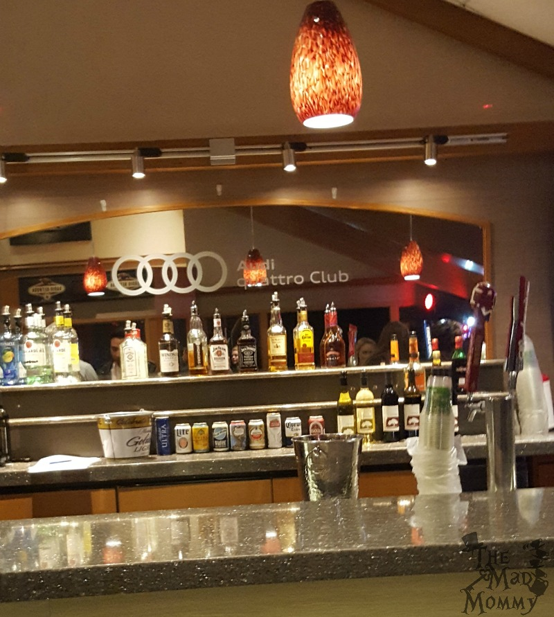 The Audi Quattro Club, which was transformed into Lady Gaga's VIP Room!
