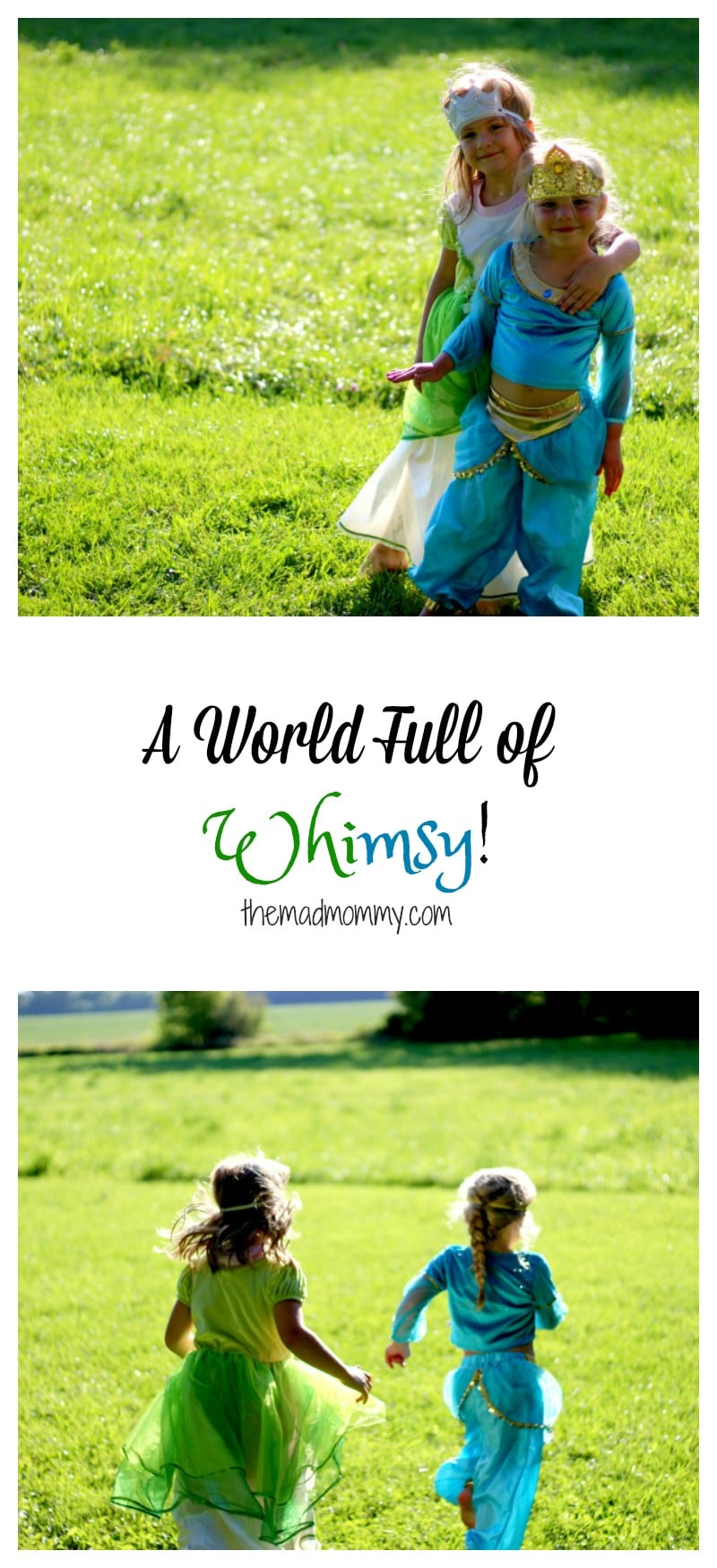 The dress-up clothes from The Whimsy Factory are beautiful and definitely capture the little details!