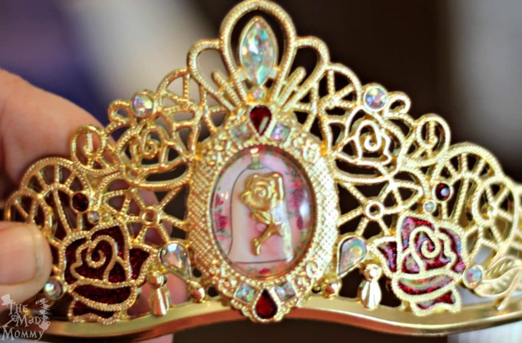 Beauty and the Beast Tiara from the Disney Princess PLEY.com Subscription Box!
