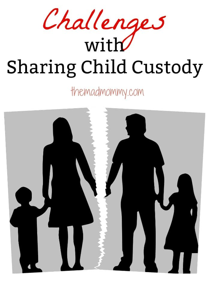 Kids who split their time between two parents had fewer problems compared to children who only lived with one, but there are some challenges with sharing child custody.
