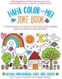 HAHA Color Me Joke Book