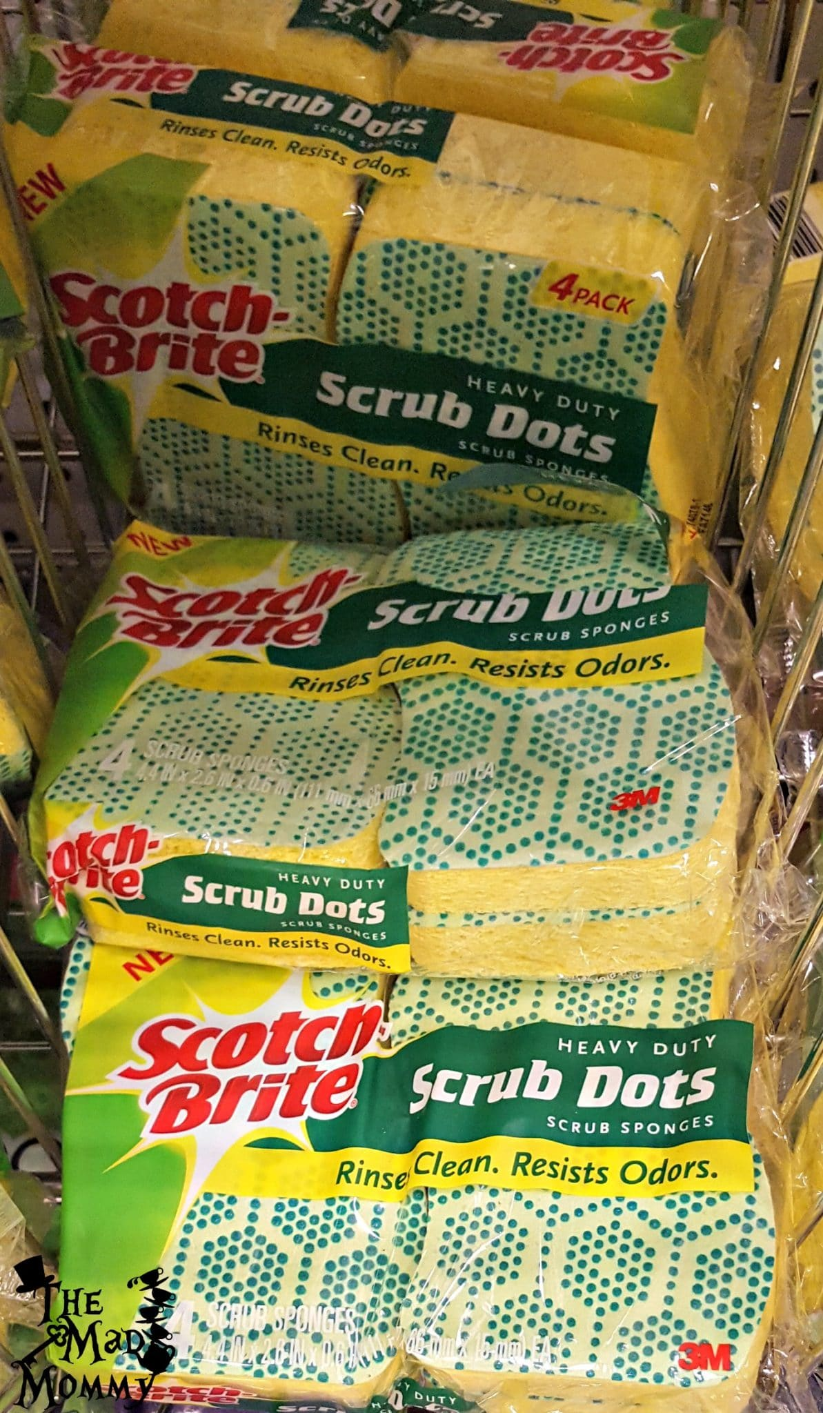 I picked up some Scotch-Brite® products to help me out in the kitchen! #ScrubDots #CollectiveBias #AD