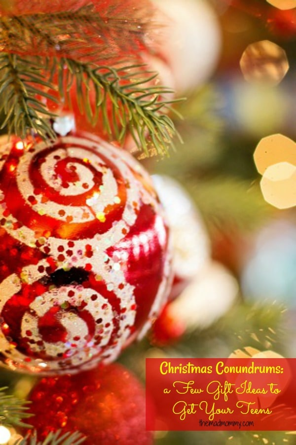 Christmas Conundrums: a Few Gift Ideas to Get Your Teens