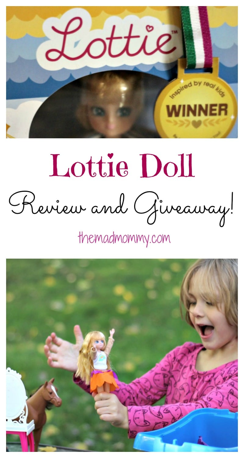 My daughter played with her Lottie Doll toys for hours! I think it is safe to say that our Lottie Doll review is 100% positive and that we would recommend them to anyone!