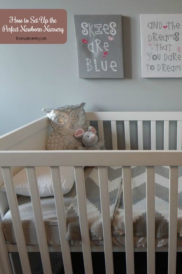 When you have a newborn on the way there are many things to consider before the arrival. One of the most important is how to set up the perfect newborn nursery even if you're working with a limited space.