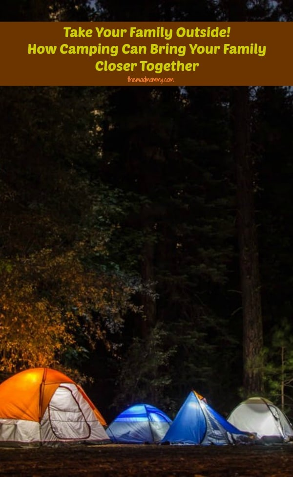 Going camping is an outstanding way for your family to reaffirm your love. It's all about it being an exciting and rewarding situation. Here is how camping can bring your family closer together.