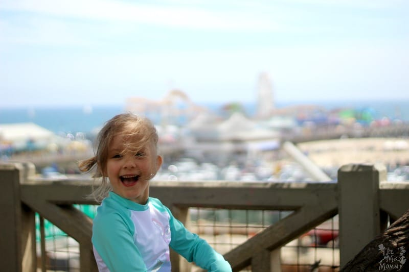 All Smiles at the Santa Monica Pier!