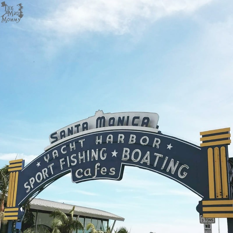 The Famous Santa Monica Pier in Santa Monica, California!