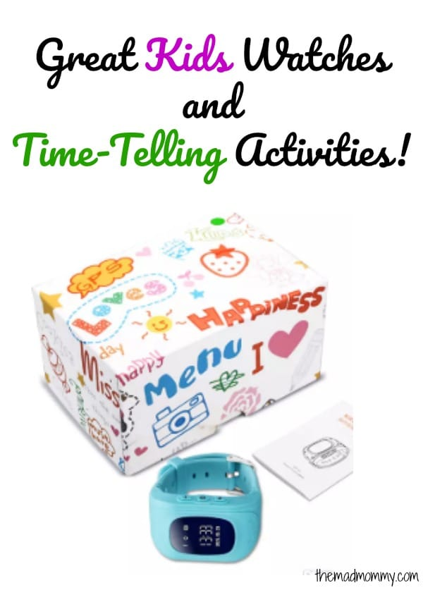 Remember, when you are out and about buying school supplies, grab some great kids watches and teach your kids some responsibility and self-motivation, by giving them the gift of telling-time.