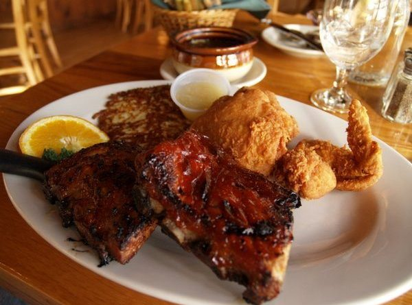 Chicken and ribs - Little Bohemia Supper Club