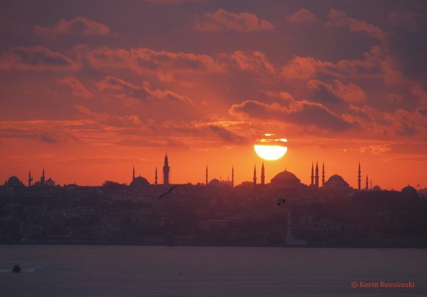 Old Istanbul Skyline