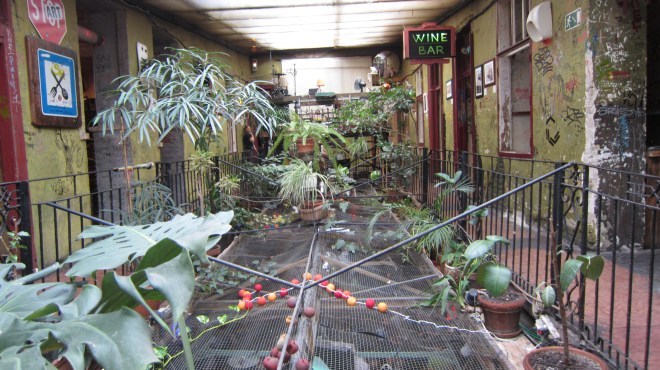 Szimpla Kert; it has an upstairs too