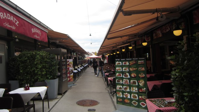 Naschmarket, goo for spices, food and tacky clothes