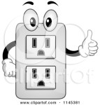 1145381-Cartoon-Of-An-Electrical-Socket-Mascot-Holding-A-Thumb-Up-Royalty-Free-Vector-Clipart