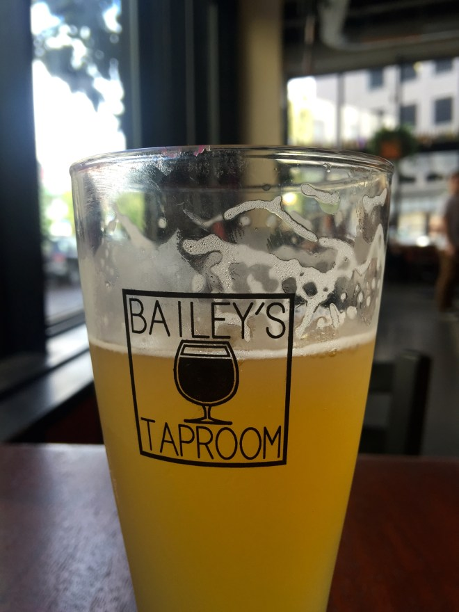 Many, many independent breweries to visit; Portland is a beer-lovers paradise