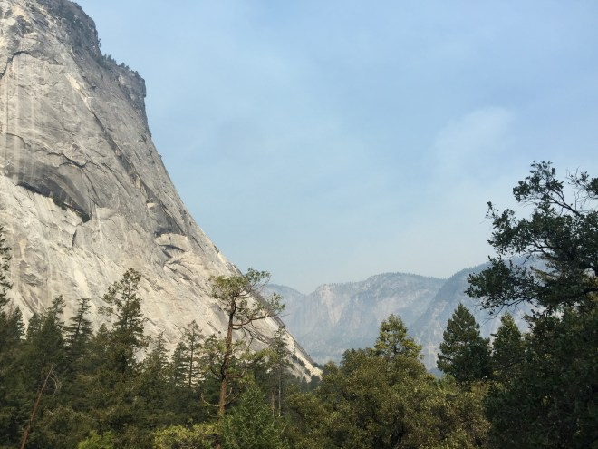 Yosemite: still a bit hot for some of the hiking trails
