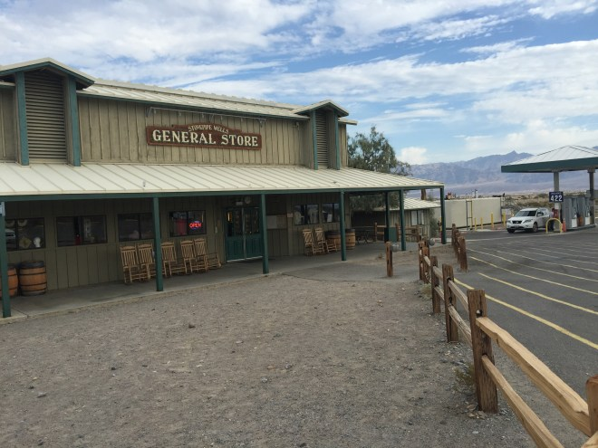 General store at Stovepipe Wells