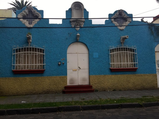 Typical Coyoacan house