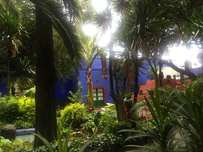 Casa Azul, the house built by Frida Kahlo's father when Coyoacan was a separate town (before it got taken over by the urban sprawl of Mexico City).