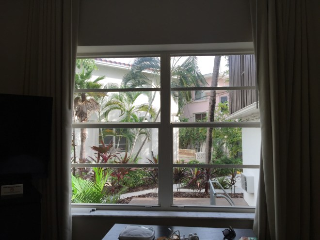 View from my window in Fort Lauderdale