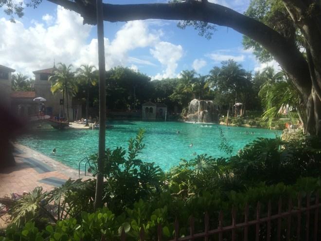 Venetian swimming pool