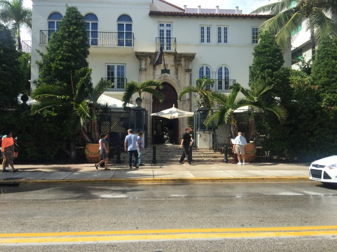 Versace's Miami Beach house: Gianni Versace bought this house in 1992 for $2.9 million.  Casa Casuarina, the scene of Versace's 1997 murder, is now a member's only club.