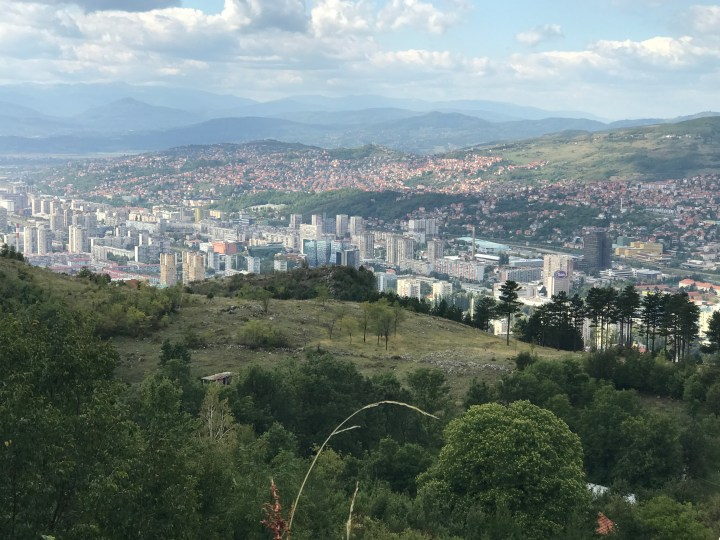 view of Sarajevo, Bosnia and Herzegovina
