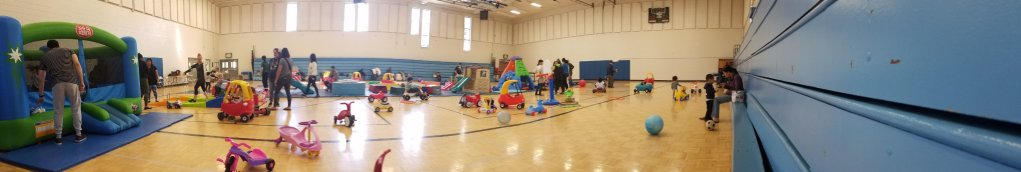 Open Tot Gym…a Toddler and tired Mommas dream