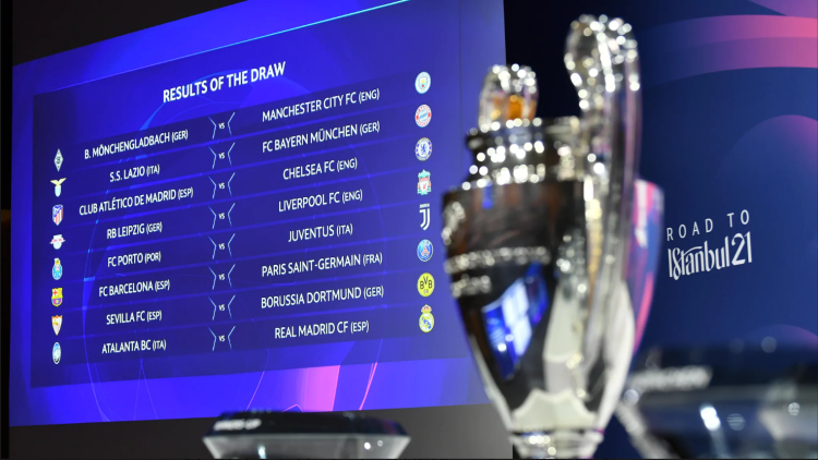 Round of 16 of the Champions League 2020/2021 - Magazine