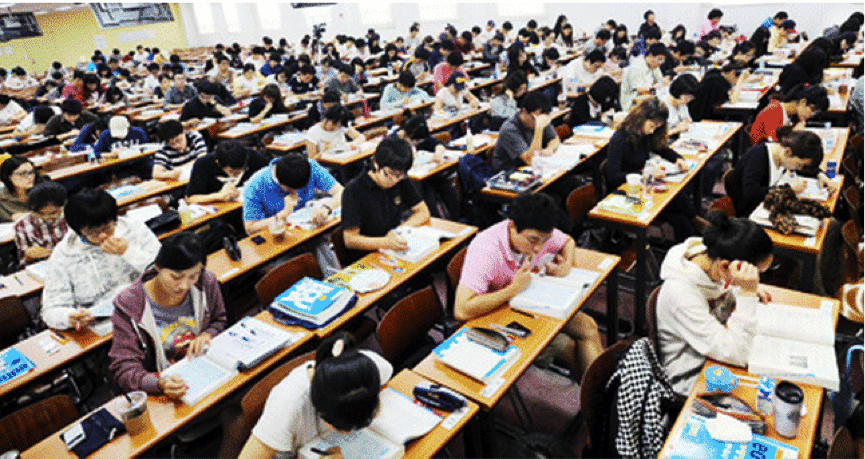 korea educational system Education is a national obsession in south korea everywhere there are cram  schools (hagwon) where elementary, middle and high school students study late .