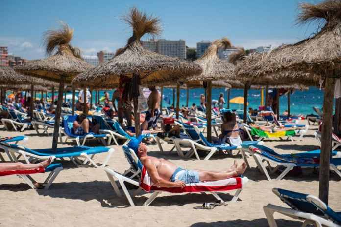 "British holidaymakers are being warned that there is a ""general threat"" from terrorism in Spain"