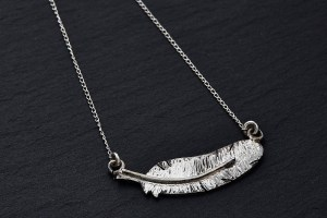 necklace feather 3