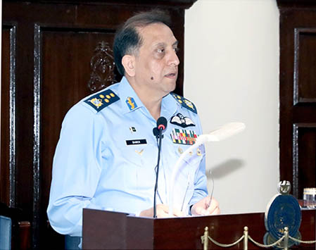 Chief of the Air Staff Air Chief Marshal Zaheer Ahmed Baber Sidhu