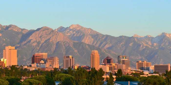 Salt Lake City, Utah - Skyline