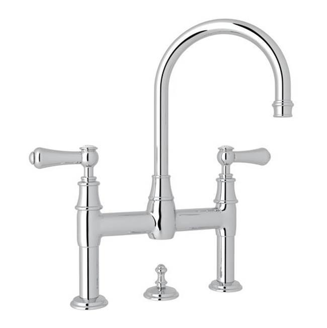 georgian era bridge lavatory faucet