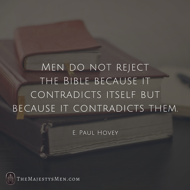Contradictions Bible TheMajestysMen Instagram Post Quote
