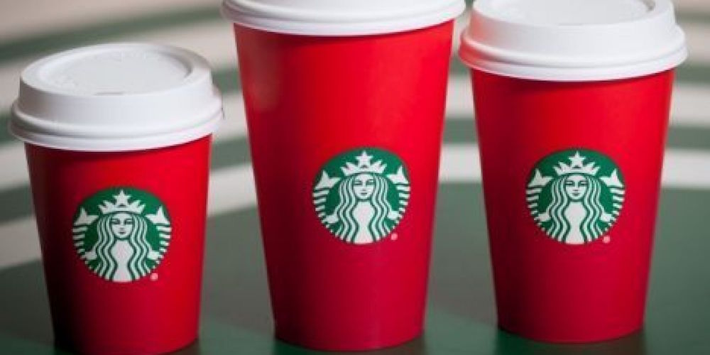 starbucks red cups christians christmas gospel