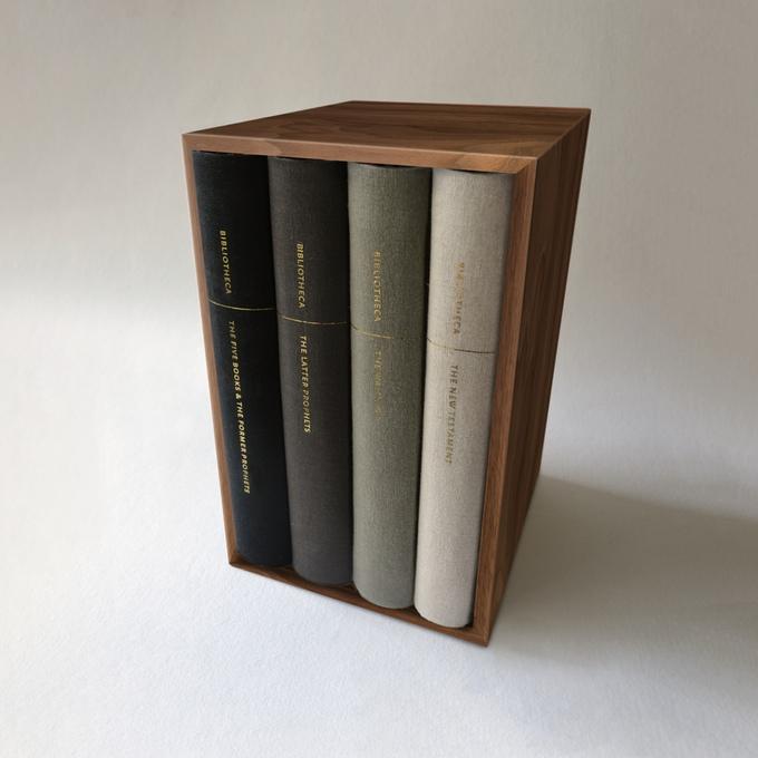 bibliotheca bible beautiful minimal elegant book set image