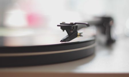music should christians listen record player image