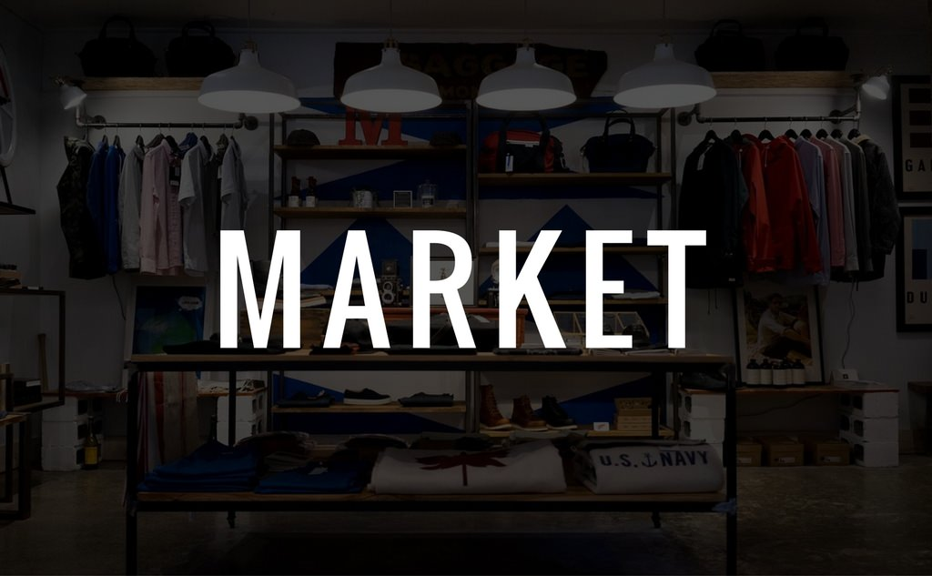 The Majesty's Men Market Shop Vendor Project Graphic
