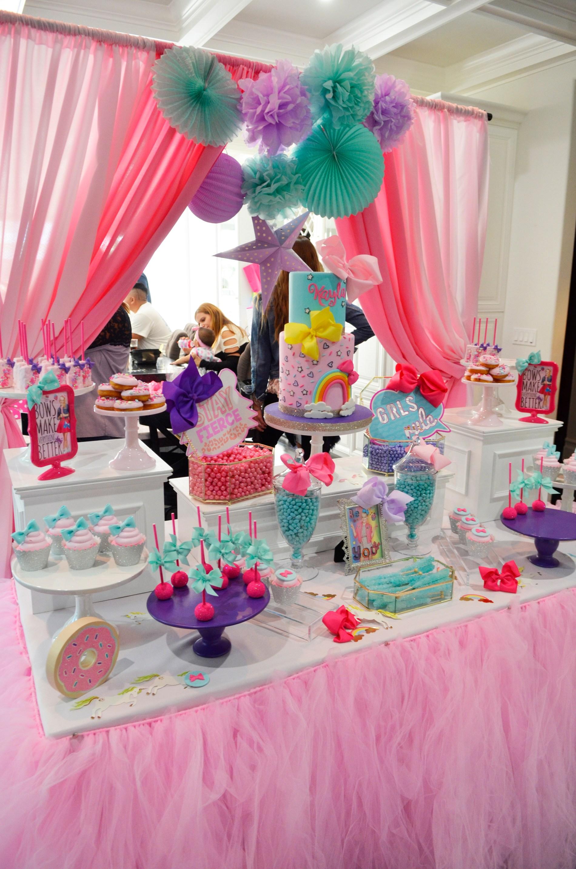Jojo Siwa Bow Birthday Party Ideas Highlights
