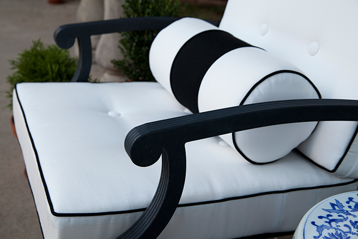 Outdoor Cushions With Custom Details