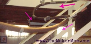 How to make a marble roller coaster on TheMakerMom.com