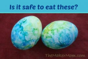 Are these Easter eggs safe to eat?