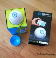 Sphero is a spherical robot that teaches coding. It's a cool gift for tweens and teens.