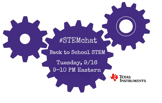 STEMchat with Texas Instruments back to school STEM