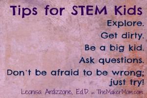 STEM Advice from Dr. Leonisa Ardizone