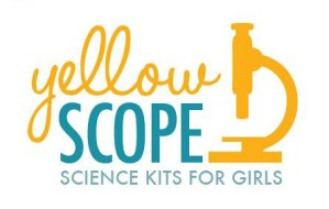 Yellow Scope Science Kits for Girls