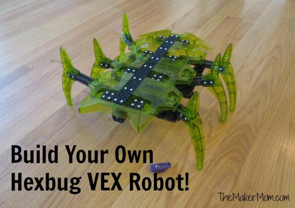 Build your own Hexbug VEX robot!