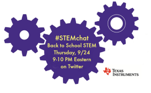 Texas Instruments STEMchat with The Maker Mom.